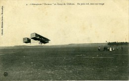 France Camp De Chalons Aeroplane Farman Pionnier De L Aviation Ancienne Carte Postale CPA 1908 - ....-1914: Precursors