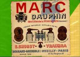 MARC DAUPHIN  Des Cotes De La Mistrayere Moirans Grenoble - Etiquettes