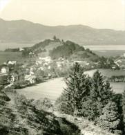 Allemagne Montagnes Bavaroise Kochel Panorama Lac Ancienne Photo Stereoscope NPG 1900 - Photos Stéréoscopiques