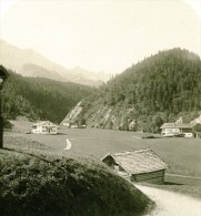 Allemagne Montagnes Bavaroise Elman Partenkirchen Ancienne Photo Stereoscope NPG 1900 - Stereoscopic