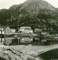 Norvège Digermulen Ancienne Photo Stereoscope Anonyme 1900 - Stereoscopic