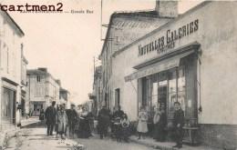 SAINTE-HERMINE LA GRANDE RUE DEVANTURE NOUVELLES GALERIES VENDEENNES 85 VENDEE - France