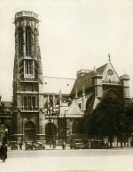 France Paris Carillon Eglise De St Germain L'Auxerrois Ancienne Photo Rol 1931 - Photographs