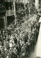 France Rouen Fetes De Jeanne D Arc Cortege Ancienne Photo Rol 1931 - Photographs