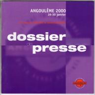 ASTERIX - PRESSE - ASTERIX ET LE SECRET DE LA POTION MAGIQUE - DOSSIER DE PRESSE DU FESTIVAL BD ANGOULEME 2000 - Astérix
