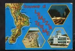 P1698 LAMEZIA TERME ( CATANZARO ) CORSO GIOVANNI NICOTERA  - Carta Geografica Map Carte Geographique - - Lamezia Terme