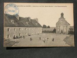 Ref4773 CPA Salins Les Bains Interieur Du Fort Saint Andre. Les Casernements. Cure D'air. Edition Figuet 104. - France