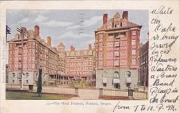 The Hotel Portlande Oregon 1906