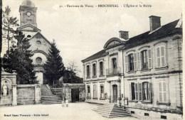 52  BROUSSEVAL L´Eglise Et La Mairie - France