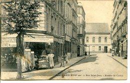 75017 PARIS - Rue Saint-Jean - Avenue De Clichy - Quincailler-drogiste - Produits Photographiques - Paris (17)