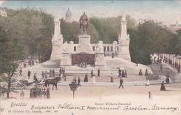 Germany 1905 Breslau, Kaiser Wilhelm I Denkmal - Postcards