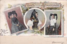 Germany 1905 Gruss Aus Dem Schwarzwald - Postcards