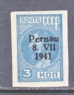 """GERMAN  OCCUPATION  ESTONIA  """" PARNU """"  Mi 3  * - Estonia"""