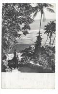 ILES WALLIS - FUTUNA - N° 36 - FORMAT  CPA - MENTION AUX PHILATELISTES LEURS HABITANTS RECONNAISSANTS AU VERSO - Wallis Et Futuna