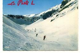 Cp , 73 , VAL D'ISERE , La COMBE De La Piste L , Voyagée , Sport , Ski , Ed : Cap 1909 - Val D'Isere