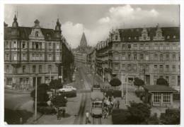 CPA    SAXE    GOERLITZ   GORLITZ    BRAUTWIESENPLATZ     TRAMWAY - Görlitz