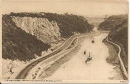 P1610 - POSTAL - THE AVON GORGE - PORTWAY & SUSPENSION BRIGDE - CLIFTON ++ - Postales