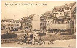 Heyst-ur-Mer NA4: Le Square Albert Et Le Square Hôtel - Heist