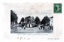 GIVET.Vallée De La Meuse-avenue De La Gare & Avenue Jules Lartigue. - Givet