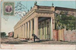 CPA CUBA GIBARA Town House And Union Club House Carte Colorisée Timbre Stamp Carte Colorisée - Cuba