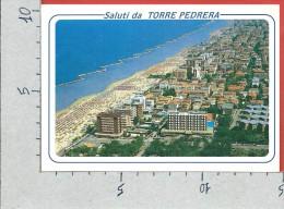 CARTOLINA NV ITALIA - TORRE PEDRERA (RN) - Saluti - Panorama Dall'Aereo - 10 X 15 - Rimini
