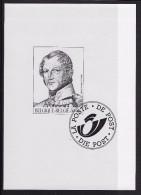 Zwart-Wit Velletje Koning Leopold 1 - Black-and-white Panes