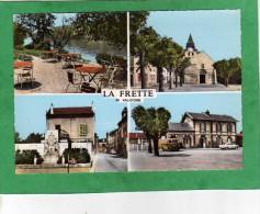 La-Frette-sur-Seine (église Terrasse Monument Aux Morts Gare Voiture Camionnette) - La Frette-sur-Seine
