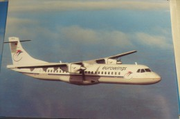 AIRLINES ISSUE / CARTE COMPAGNIE       EUROWING     ATR 72 - 1946-....: Moderne