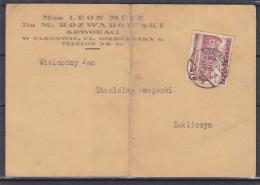 Pologne - Carte Postale De 1939 - OblitérationTarnowie - Université - Covers & Documents