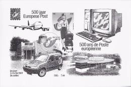 Zwart-Wit Velletje Postgeschiedenis - Zwarte/witte Blaadjes