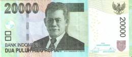 BILLETE DE INDONESIA DE 20000 RUPIAH DEL AÑO 2014 CALIDAD EBC (XF) (BANKNOTE) - Indonesia