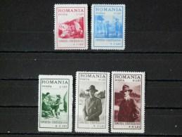 ROUMANIE - 1931 - N° 422/426 * - Nuovi
