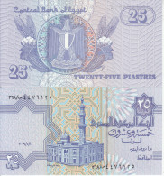 EGITTO EGYPT AFRICA 25 PIASTRES FDS UNC - Egipto