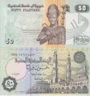 EGITTO EGYPT AFRICA 50 PIASTRES FDS UNC - Egipto