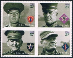 Etats-Unis - Marines Honorés 3728/3731 ** - Etats-Unis