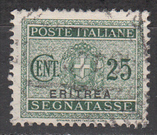 Eritrea     Scott No  J18    Used    Year  1934 - Eritrea