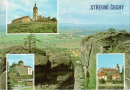 Stredni Cechy Region - Castle Melnik - Mala Boleslav Castle - Brandys Nad Labem Castle - Czechoslovakia - Czech - Unused - Czech Republic