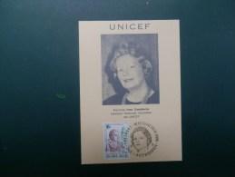 54/711   MAXI CARTE BELGE  UNICEF - UNICEF