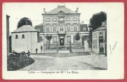Lens - Campagne De Mme Le Brun - Maison Bourgeoise - 1903 ( Voir Verso ) - Lens