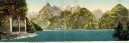 Panorama Von Der TELLSKAPELLE - Carte Double - UR Uri