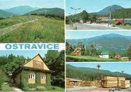 Railway Station - Train - Wood Industry - Ostravice - Czechoslovakia - Czech - Unused - República Checa