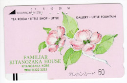 JAPON TELECARTE ANCIENNE KITANOZAKA HOUSE NTT 110-11349 TELECA - Japan