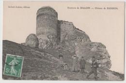 CPA Environs De BILLOM Château De BUSSEOL - France