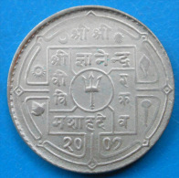 Népal Nepal 1 Rupee 1950 Vs 2007 Km 727 - Nepal