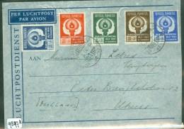 NEDERLANDS-INDIE * BRIEFOMSLAG Uit 1952 Van MEDAN Naar UTRECHT  (9877a) - Indes Néerlandaises