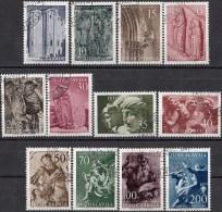 Jugoslavië - Jugoslawische Kunst/Jugoslavische Kunst - Gebruikt/gebraucht/used - M 776-787 - 1945-1992 Socialistische Federale Republiek Joegoslavië
