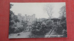 Scotland>  Castle Gardens-- Dunoon -------------- ----------- Ref--1966 - Ecosse