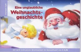 Boekje Met 8 Exclusive Zegels Kerstmis-Weihnachten - Autriche