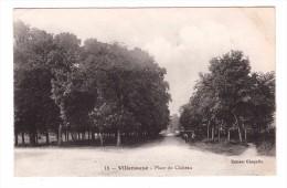 10 Villenauxe Place Du Chateau Carte RARE écrite En 1919 - Autres Communes