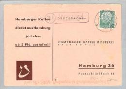 Heimat DE BAY Ingenried 1956-07-21 üb.Schöngau CK N.Hamburg - Lettres & Documents